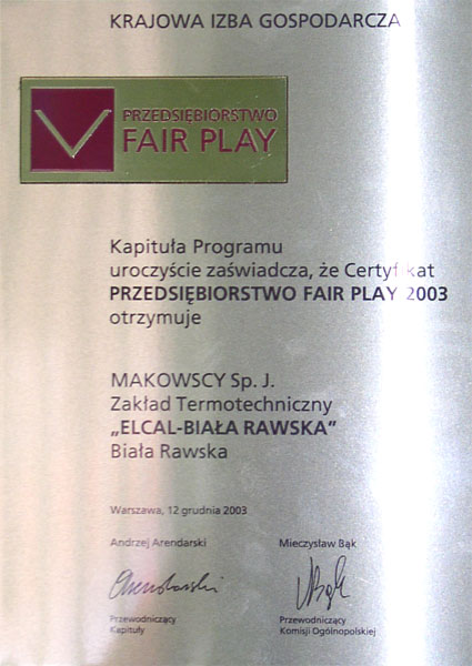 Fairplay 2003